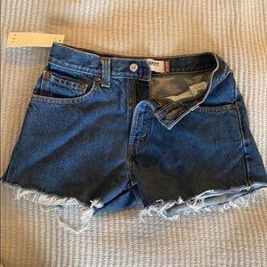 "Vintage Levi Shorts - 28"" waist"